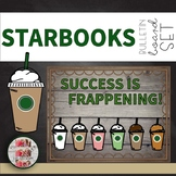 """STARBOOKS  Door COFFEE THEMED BULLETIN BOARD """"Success is Frappening!"""""""
