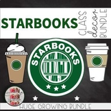 Starbooks COFFEE THEMED EPIC BUNDLE Bulletin Boards Decorations