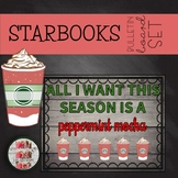 COFFEE THEMED Holidays Christmas December BULLETIN BOARD STARBOOKS