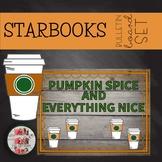 COFFEE THEMED November Fall Pumpkin Spice BULLETIN BOARD STARBOOKS Editable