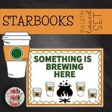 COFFEE THEMED OCTOBER HALLOWEEN FALL BULLETIN BOARD STARBOOKS STARBUCKS