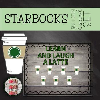 """COFFEE Themed Bulletin Board """"Learn and Laugh A Latte"""""""