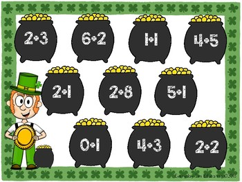 COIN COLLECTION! - St. Patricks Day Math Game