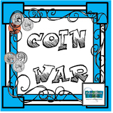COIN WAR CARD GAME FOR PRACTICING COUNTING COINS
