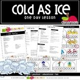 COLD AS ICE Preschool PreK Kindergarten 1-Day Lesson Plan