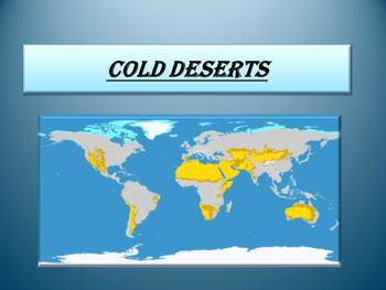 Free geography powerpoint presentations resources lesson plans free cold deserts free cold deserts gumiabroncs Images