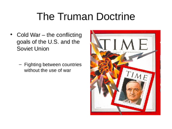 The COLD WAR (Beginnings) PowerPoint Notes