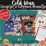 COLD WAR: COMPLETE LESSON BUNDLE  DIGITAL & Print
