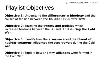 COLD WAR Causes & Alliances PowerPoint Lecture