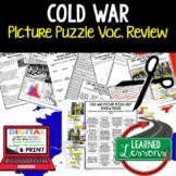 COLD WAR Activity Picture Puzzle Unit Review, Study Guide,