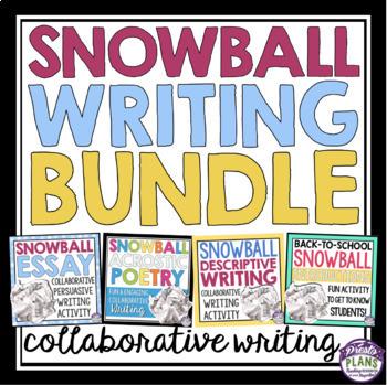 COLLABORATIVE WRITING BUNDLE: SNOWBALL WRITING