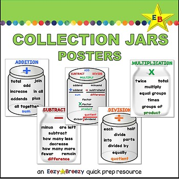 COLLECTION JARS posters