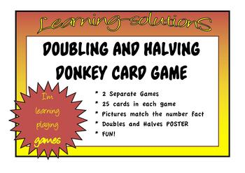 DOUBLING AND HALVING - DONKEY CARD GAME