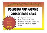 FRACTIONS of a COLLECTION Set 1 - Halving - DONKEY CARD GAME