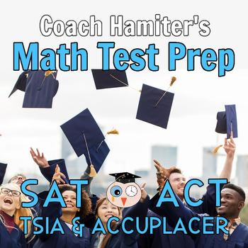 Math Test Prep Bundle for College Entrance