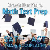 Math Test Prep Bundle for College Entrance - Blended Learning