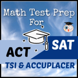 Math Test Prep Bundle for College Entrance