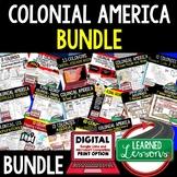 COLONIALISM BUNDLE, 13 Colonies Bundle, AMERICAN HISTORY BUNDLE