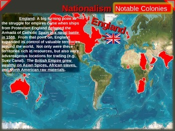 IMPERIALISM, COLONIALISM, NATIONALISM (1800-1914) - ENGLAND (PART 1 of EPIC UNIT