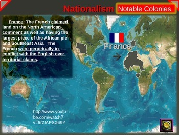 IMPERIALISM, COLONIALISM, NATIONALISM (1800-1914) - FRANCE (PART 2 of EPIC UNIT