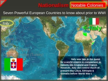 IMPERIALISM, COLONIALISM, NATIONALISM (1800-1914) - ITALY (PART 5 of EPIC UNIT