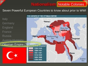 IMPERIALISM, COLONIALISM, NATIONALISM (1800-1914) OTTOMANS (PART 7 of EPIC UNIT