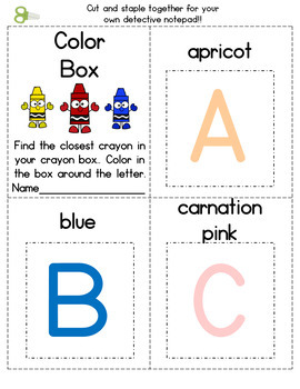 Color Detective – Find the Colored Letter
