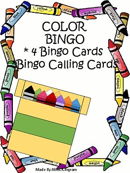 COLOR BINGO GAME SET