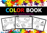 COLOR BOOK - Coloring Pages for Learning Colors