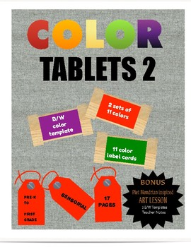 COLOR BOX / TABLETS # 2