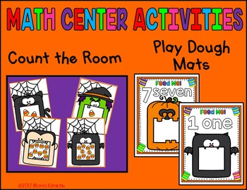 Color by Counting - HALLOWEEN {INCLUDES DIGITAL RESOURCE}