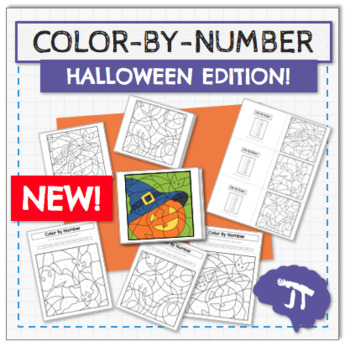 COLOR BY NUMBER Halloween Edition!