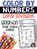 COLOR BY NUMBERS Differentiated, Print & Go Printables for