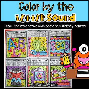 COLOR BY THE LETTER SOUND- Includes Digital Resource