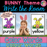 COLOR {COLOUR} WORDS - Write the Room {BUNNY - SPRING}
