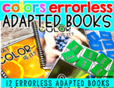 COLOR Errorless Adapted books