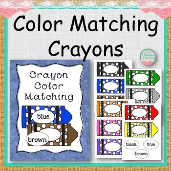COLOR MATCHING Crayons