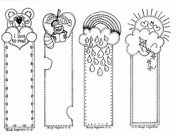 COLOR ME Bookmarks