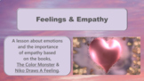 COLOR MONSTER & NIKO DRAWS A FEELING Empathy Emotion ID SE