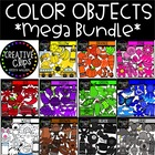 COLOR Mega Growing Bundle ($49.50 Value) {Creative Clips Clipart}