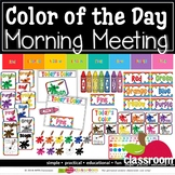 COLOR OF THE DAY - LEARNING CENTER - RAINBOW BRIGHT