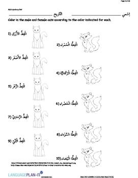 COLOR PRACTICE (ARABIC 2015 EDITION)