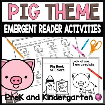 Emergent Reader for Colors and Sight Words