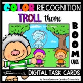 COLOR RECOGNITION – TROLL THEME – BOOM CARDS™ DIGITAL TASK CARDS