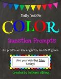 COLOR question prompts