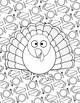 COLORABLE EDITABLE Thanksgiving & Fall Stationary and Coloring Pages Worksheets
