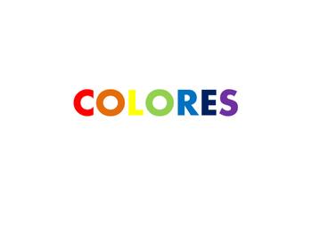 COLORES SPANISH