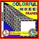 CLIPART BUNDLE: COLORFUL CHECKERED FRAMES BUNDLE