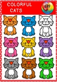 COLORFUL CATS (flash freebies)