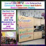 COLORFUL Life Classroom Community Builder Lesson and Bulle